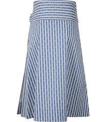 tory burch bow tie striped skirt