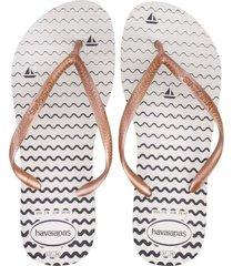 sandalias havaianas slim oceano