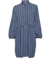 byhenna dress - kort klänning blå b.young