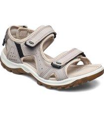 offroad lite w shoes summer shoes flat sandals beige ecco