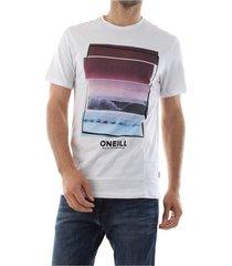 o'neill 9a2358 beach t-shirt t shirt and tank men white