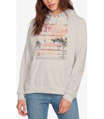 volcom printed truly stoked hooded sweatshirt