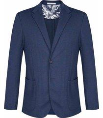 blazer business casual tejido punto slim fit para hombre 88419