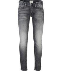 cast iron jeans riser slim donkergrijs