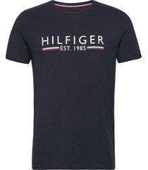 hilfiger 1985 tee t-shirts short-sleeved tommy hilfiger
