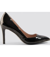 na-kd shoes classy pointy pumps - black