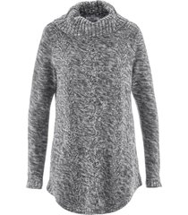 pullover poncho (grigio) - bpc bonprix collection