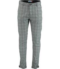 dnr pantalon 92 70700 1250.1/92 - dnr chino grijs 98% katoen / 2% elastaan - dnr chino grijs 98% katoen / 2% elastaan - dnr chino grijs 98% katoen / -