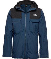 m fourbarrel tri jkt outerwear sport jackets blå the north face