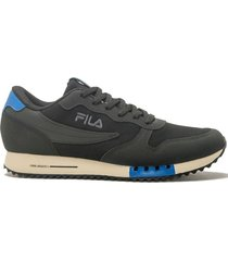 zapatilla negra fila euro jogger sports