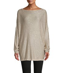 all that glitters knit tunic