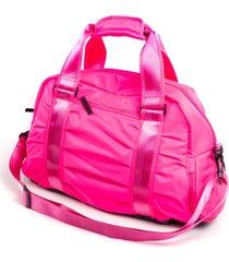 mochila fitness paul ryan rosa fluorescente - pr2004