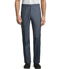 standard-fit wool dress pants