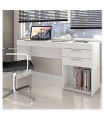 mesa para computador notável office na cor branco