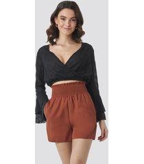trendyol gypsum shorts - red