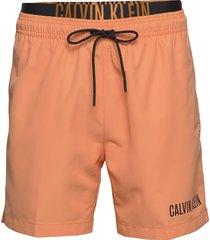 medium double wb zwemshorts oranje calvin klein