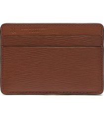 'essentiel' embossed calfskin leather slim cardholder