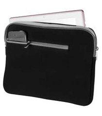 case para notebook até 15.6 pol preto e cinza bo400 multilaser