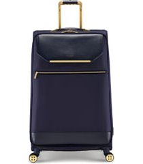 ted baker london large albany 31-inch spinner suitcase - blue