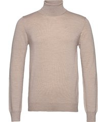 lyd merino turtleneck sweater knitwear turtlenecks beige j. lindeberg
