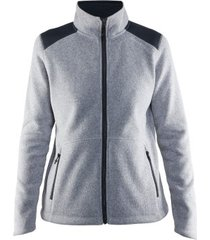 craft noble zip jacket heavy knit fleece women * gratis verzending *