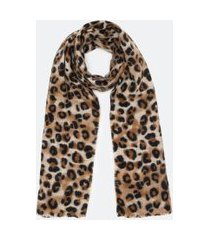 manta estampa animal print | accessories | preto | u