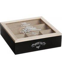 pudełko na herbatę chef