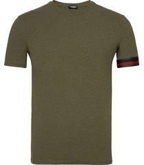 round neck t-shirt t-shirts short-sleeved grön dsquared2