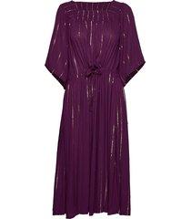 gerda dress jurk knielengte paars lollys laundry