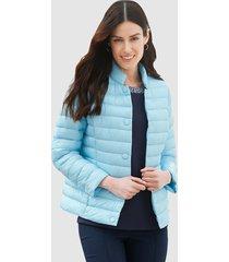 gewatteerde jas delmod lichtblauw
