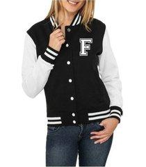 jaqueta criativa urbana college americana letra f