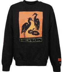 heron preston sweatshirt os herons nightshift