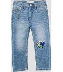 regular simon jeans - ljusblå