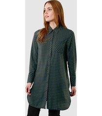 blouse laura kent marine::groen