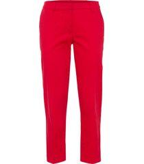 pantaloni cropped (rosso) - bodyflirt