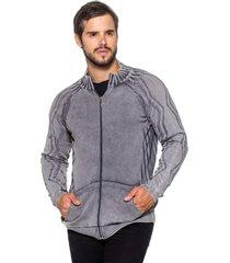 jaqueta officina do tricô austrália cinza