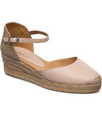 cisca_20_sty sandaletter expadrilles låga beige unisa