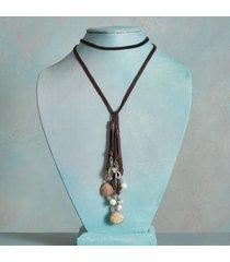 sundance catalog women's go your own way lariat necklace