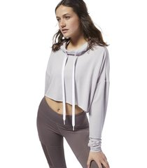 sweater reebok sport dance crop hoodie