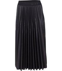 givenchy waistband pleated skirt