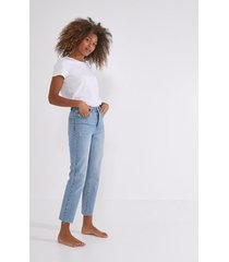 jeansy z wysoką talią basile