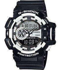 reloj g shock ga_400_1a negro resina