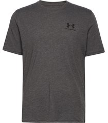 ua sportstyle lc ss t-shirts short-sleeved grå under armour