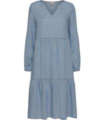 dresses denim dresses everyday dresses blå edc by esprit