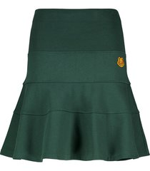 short ruffle skirt