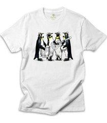 camiseta cool tees boteco pinguins - masculino