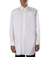 j.w. anderson oversized cotton shirt