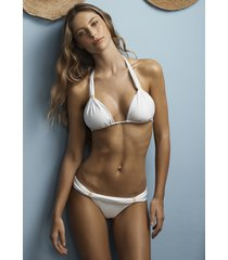 vix swimwear white bia bikini
