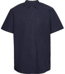blosa ss shirt kortärmad skjorta blå makia