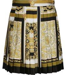 lace detail embellished skirt
